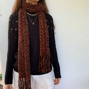 Woven Fall Toned Scarf